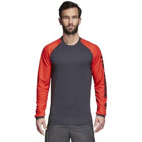 adidas TERREX Trail Cross Bluzka z długim rękawem Mężczyźni, hi-res red/carbon